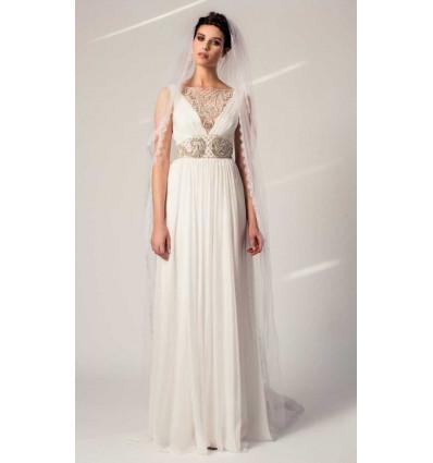 Robes de mariée longues Robe de mariée - Temperley London - Petula