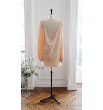 Accueil Robe courte de mariée - Delphine Manivet - Justin pêche