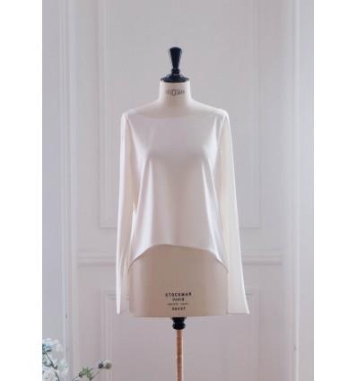 Accueil Top en jersey de soie - Delphine Manivet