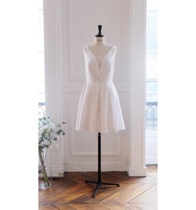 Accueil Robe de mariée courte - Modèle unique