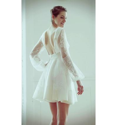 Accueil Robe de mariée - Delphine Manivet - Sanson Dentelle