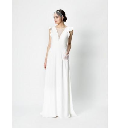 Robes de mariée longues Robe ALINE - Rembo Styling