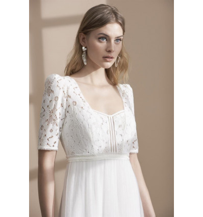 Robes de mariée longues Robe HELENA - Rembo Styling