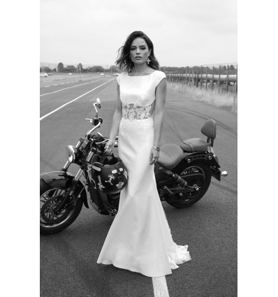 Robes de mariée longues Robe STONE - Rime Arodaky