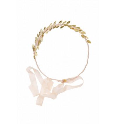 Accueil Maison Guillemette - Headband feuilles gold