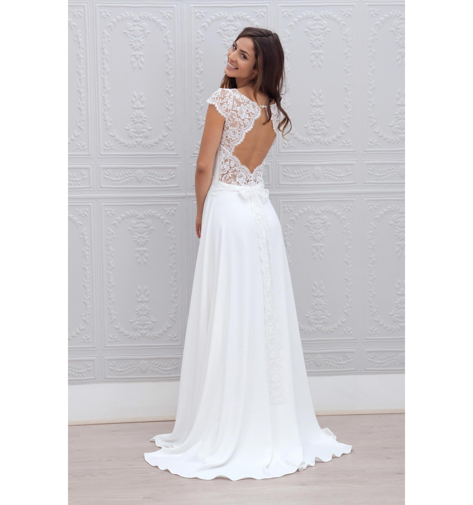 Robe de mariée Cécilia de Marie Laporte à