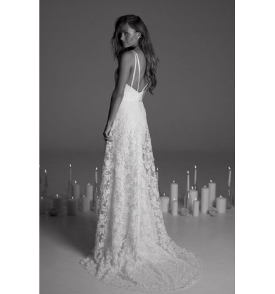 Robes de mariée longues Robe de mariée - Rime Arodaky - April