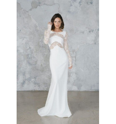 Robes de mariée longues Robe OLSEN - Rime Arodaky