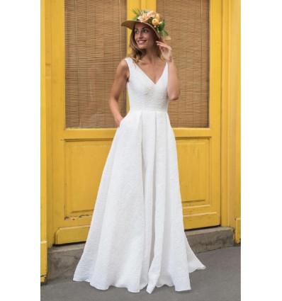 Robe longue Papeete - Marie Laporte