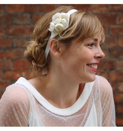Couronne de fleurs et accessoires pour cheveux Headband - Anne Sophie Coulot - Charles