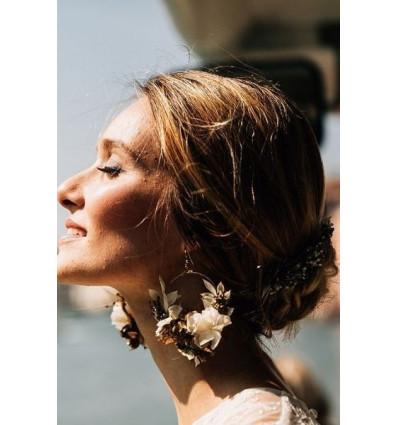 Boucles d'oreilles Graziella - Les couronnes de Victoire