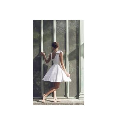Robes de mariée courtes Robe de mariée courte - Elodie Michaud - Ines