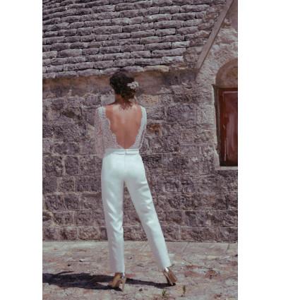 Accueil Robe de mariée - Combinaison Elodie Michaud - Vivienne