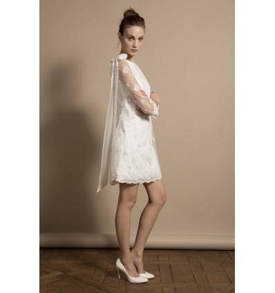 Robes de mariée courtes Delphine Manivet - Robe Pascal
