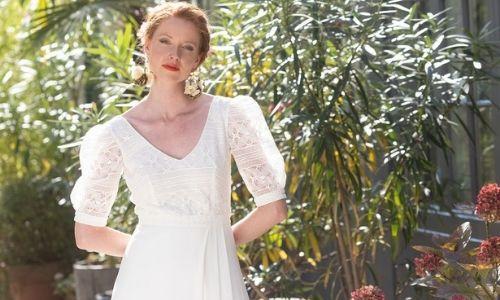 Robe de mariée de créateurs de seconde main dans notre boutique mariage à Paris