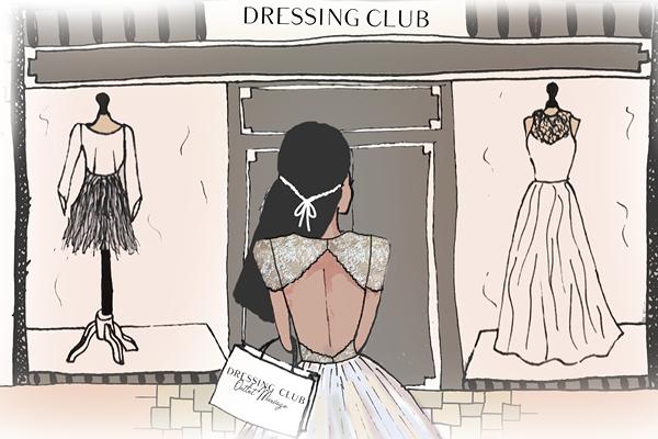 Combien coute une robe de mariée?